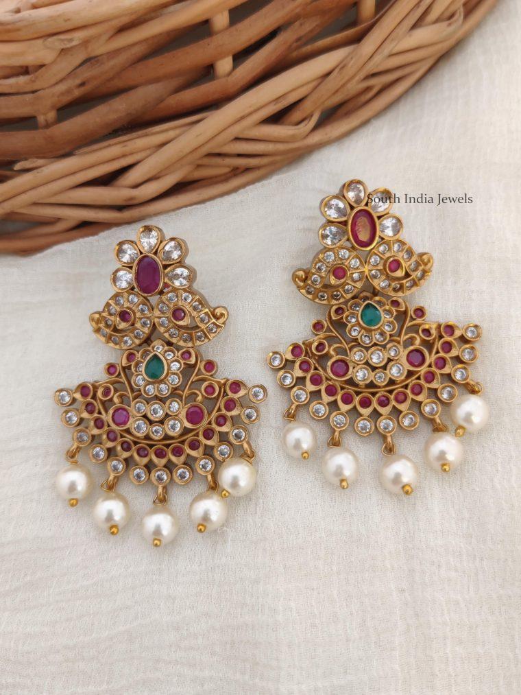 Bridal Mango Design Earrings