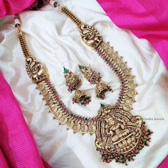 Classic Lakshmi Coin Haram Set (2)