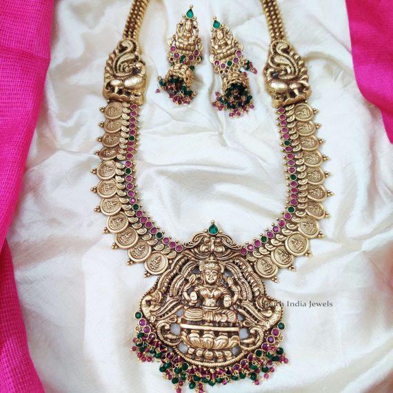 Classic Lakshmi Coin Haram Set