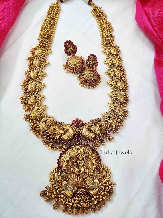 Classical Krishna Pendant Haaram