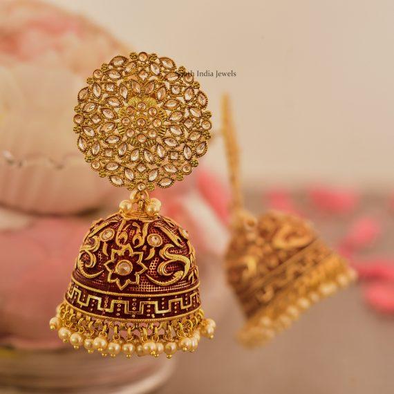 Gold Plated Tear Drop Earrings