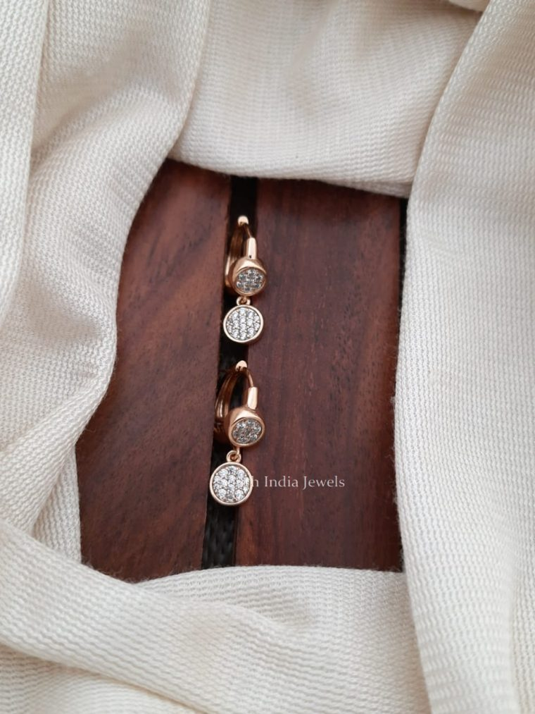 Exquisite CZ Stone Earrings (2)