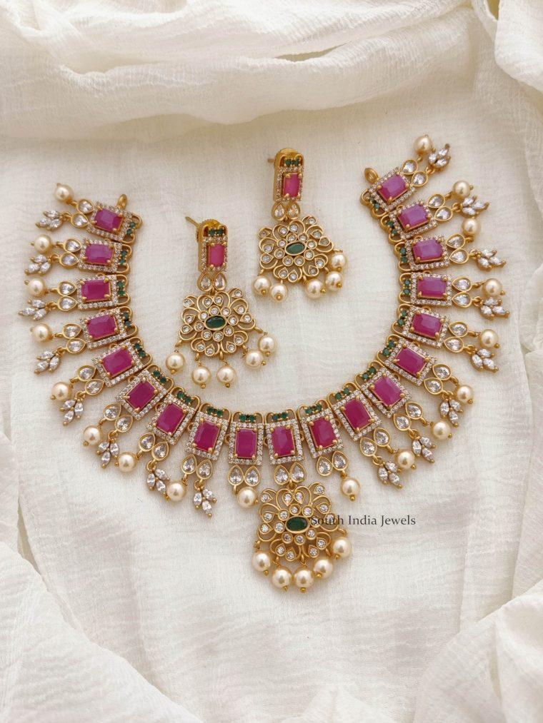 Fabulous AD Stone Necklace