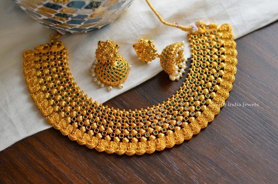 Glorious Lakshmi Coin Choker