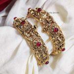 Gold Look Alike Lakshmi Openable Bangles