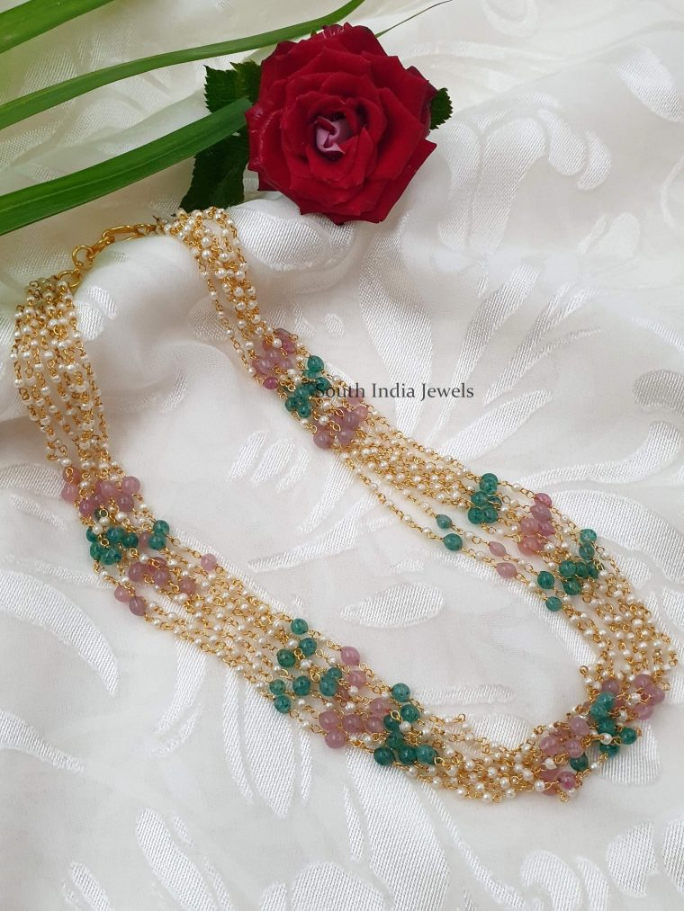 Gorgeous Layered Pearl Chain