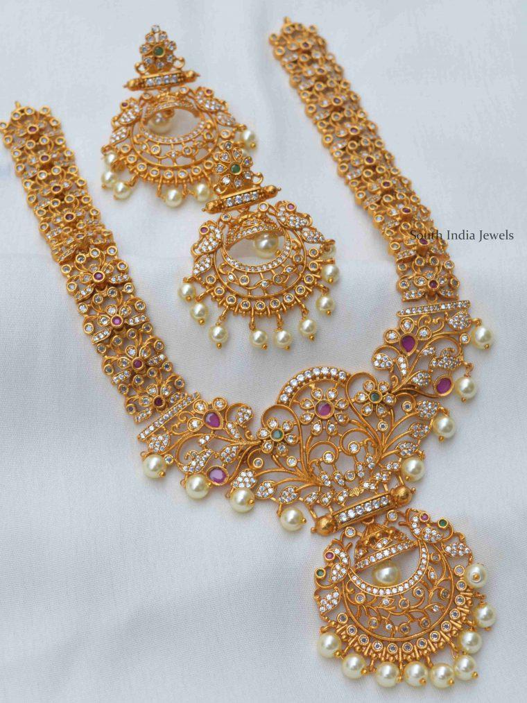 Grand Bridal Imitation Necklace Set