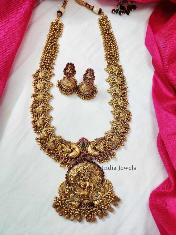 Heritage Krishna Pendant Haaram