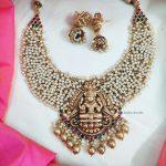 Lakshmi Pendant Guttapusalu Necklace (3)