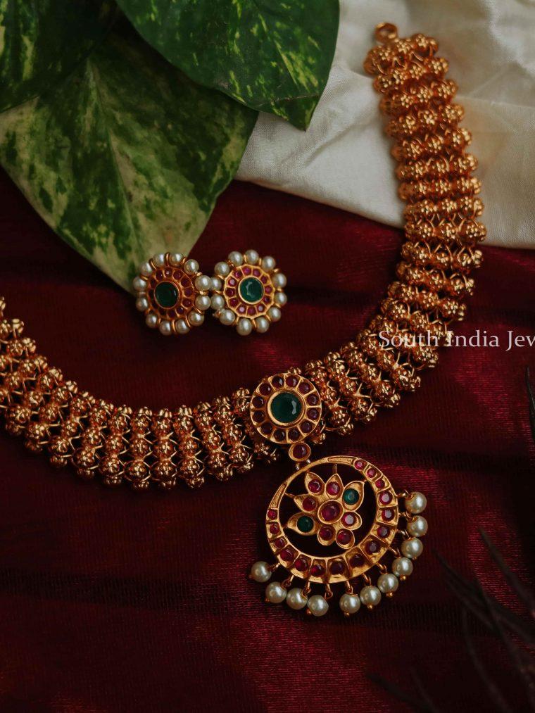 Lovely Kemp stone Necklace Set