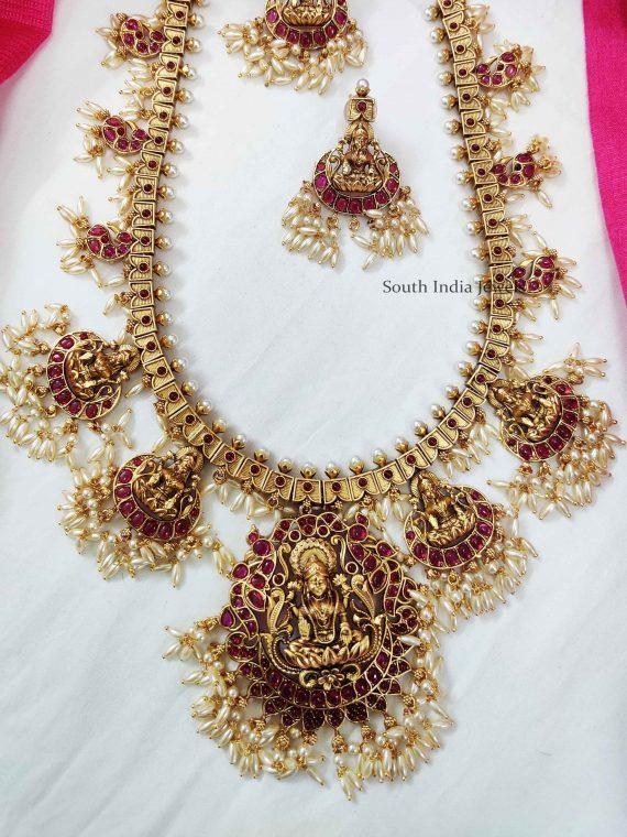 Magnificent Kemp Lakshmi Haaram Set