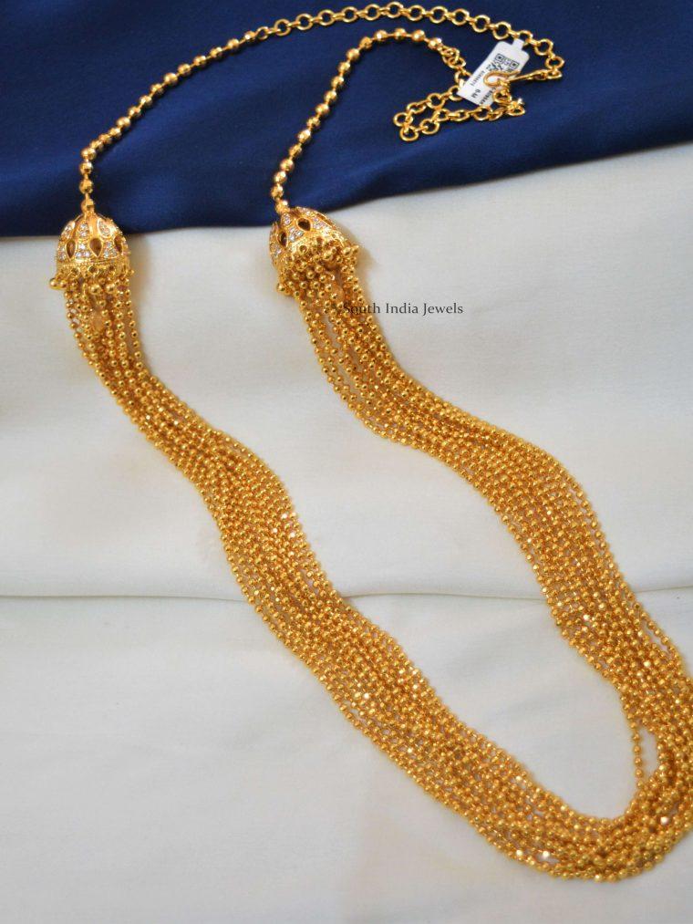 Multi Layered Gold Polish Haram