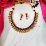 Reversible Kemp Stone Beads Necklace