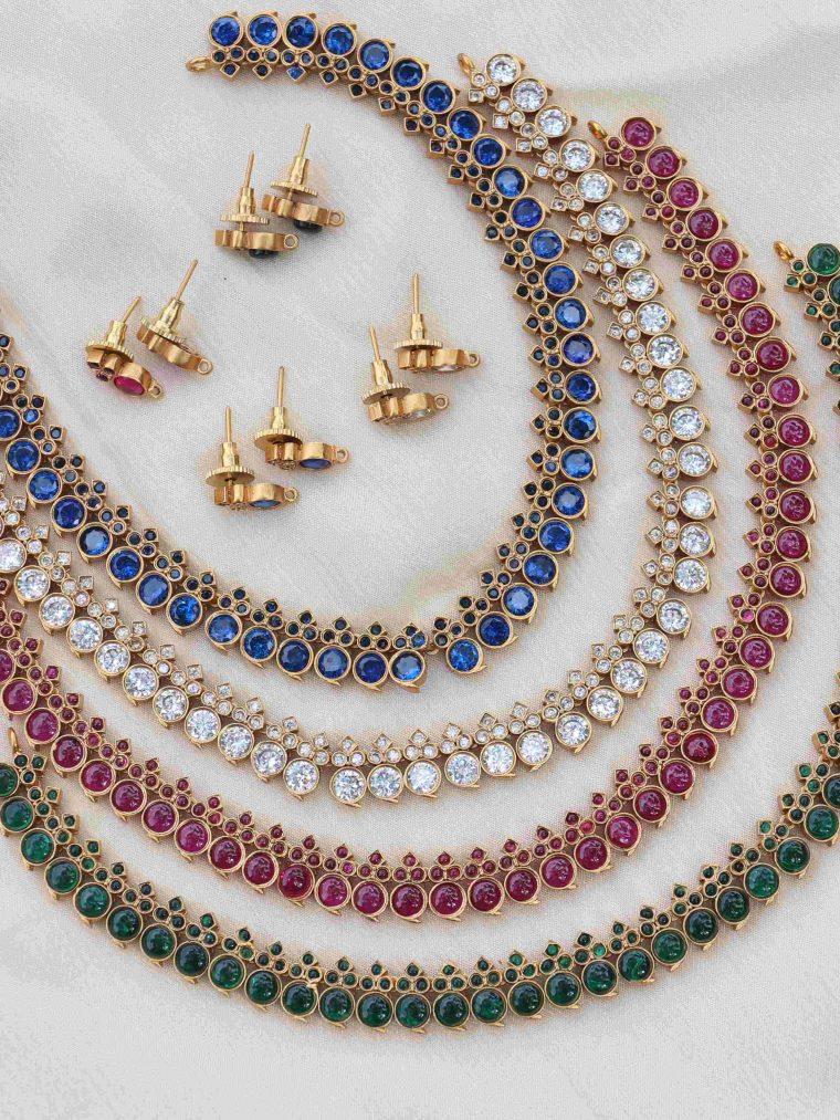 Simple Design Stone Necklace
