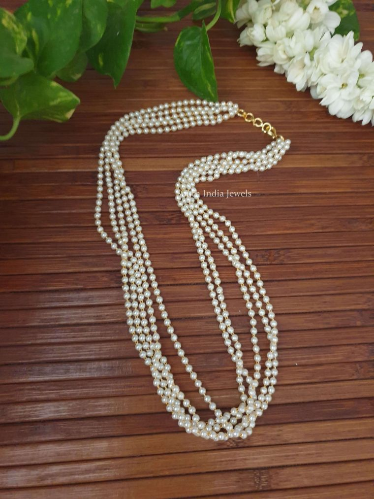 Simple Layered Pearl Chain