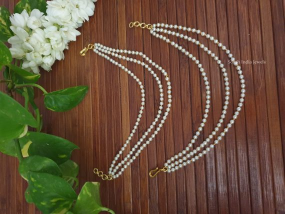 Simple Pearl Ear Extensions