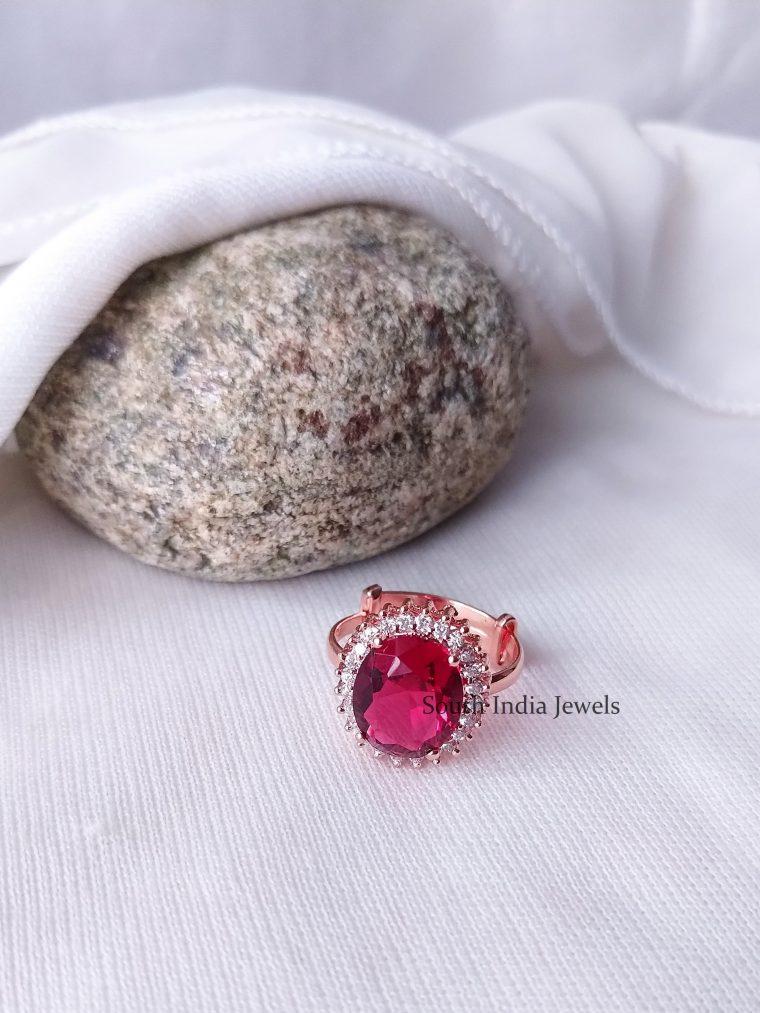 Stunning AD Stone Finger Ring