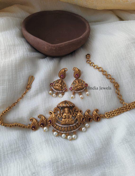 Temple Design Lakshmi Choker Set