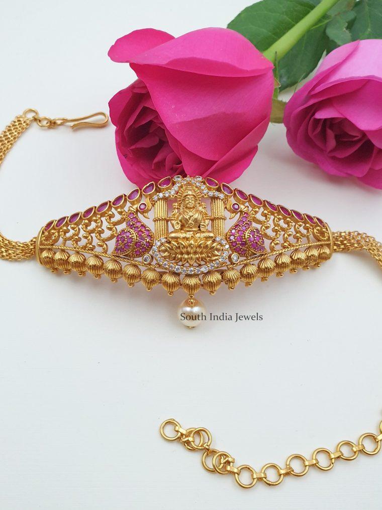 Traditional Lakshmi Design Choker cum Armlet