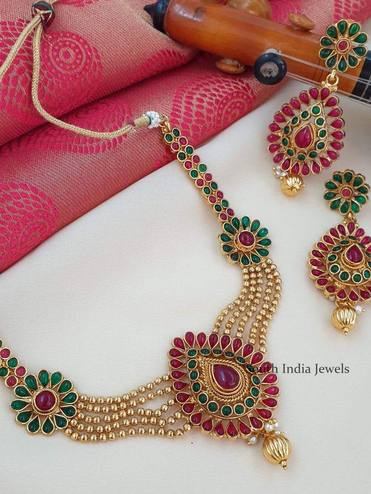 Tremendous Antique Necklace Set
