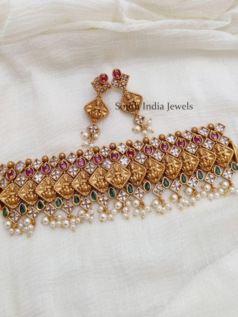 Trendy Lakshmi Design Choker
