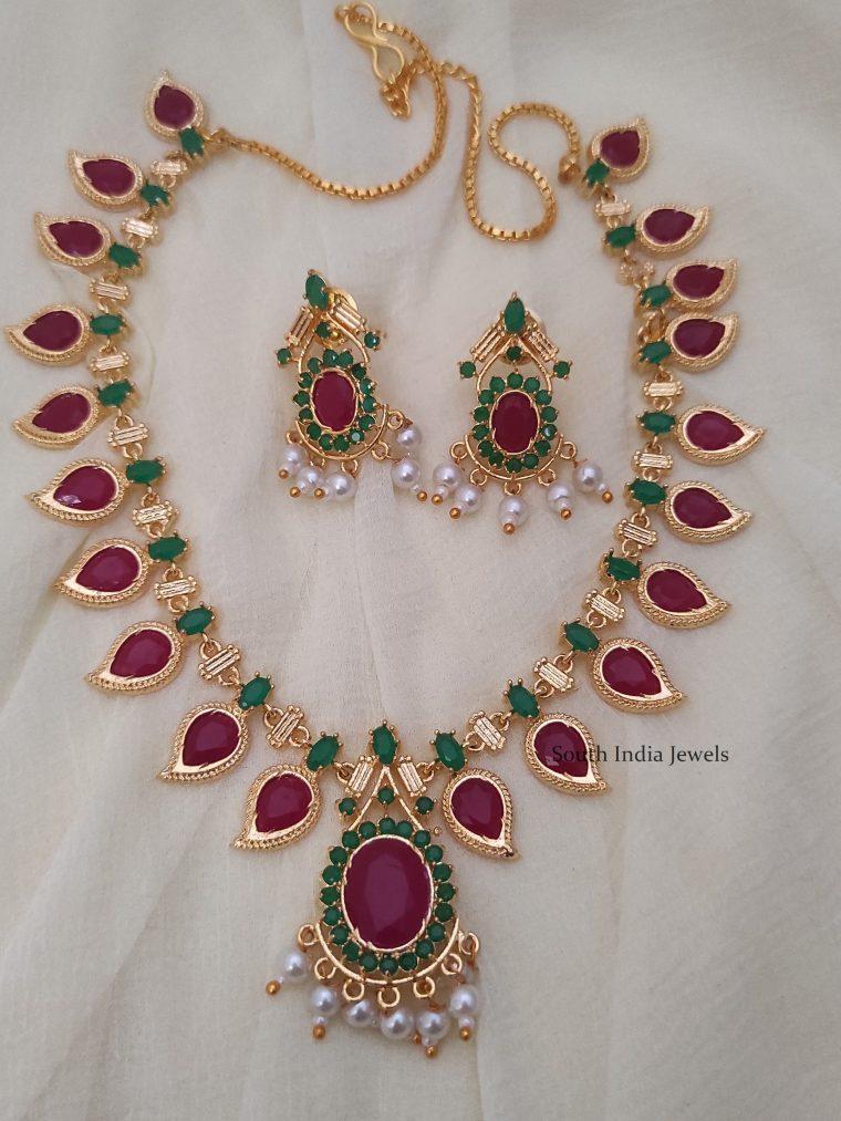 mango design necklace -01