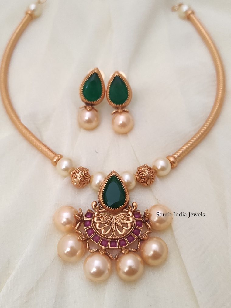 single pendant necklace-01