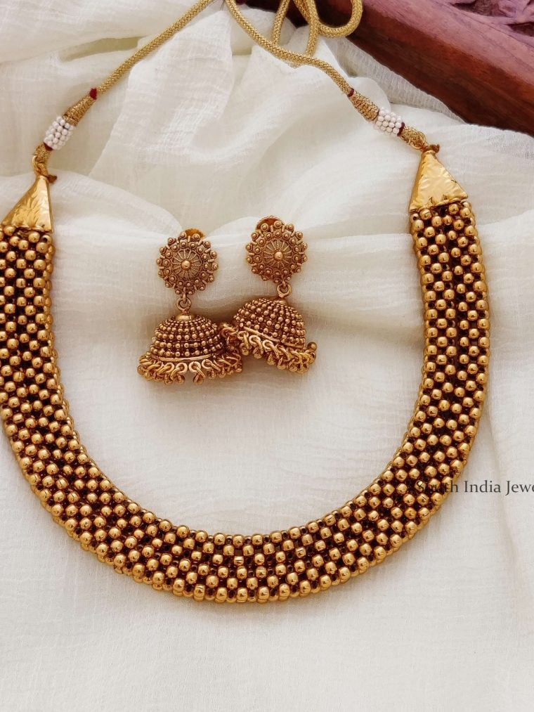 Antique Layered Necklace (3)