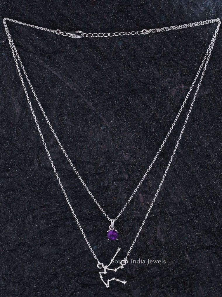 Beautiful Aquarius Layered Necklace (3)