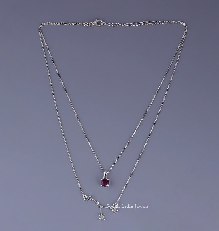 Beautiful Cancer Layered Necklace
