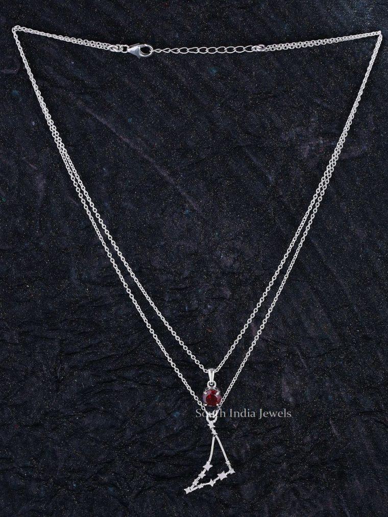 Beautiful Capricorn Layered Necklace (2)