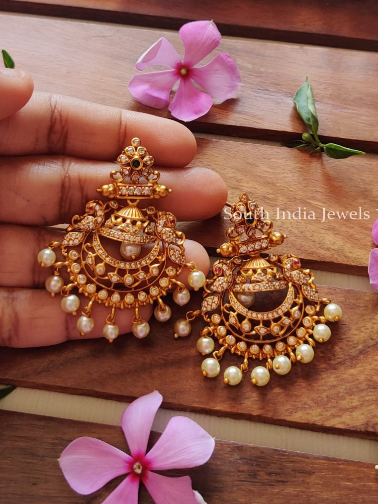 Beautiful-Chandbali-AD-Stone-Earrings