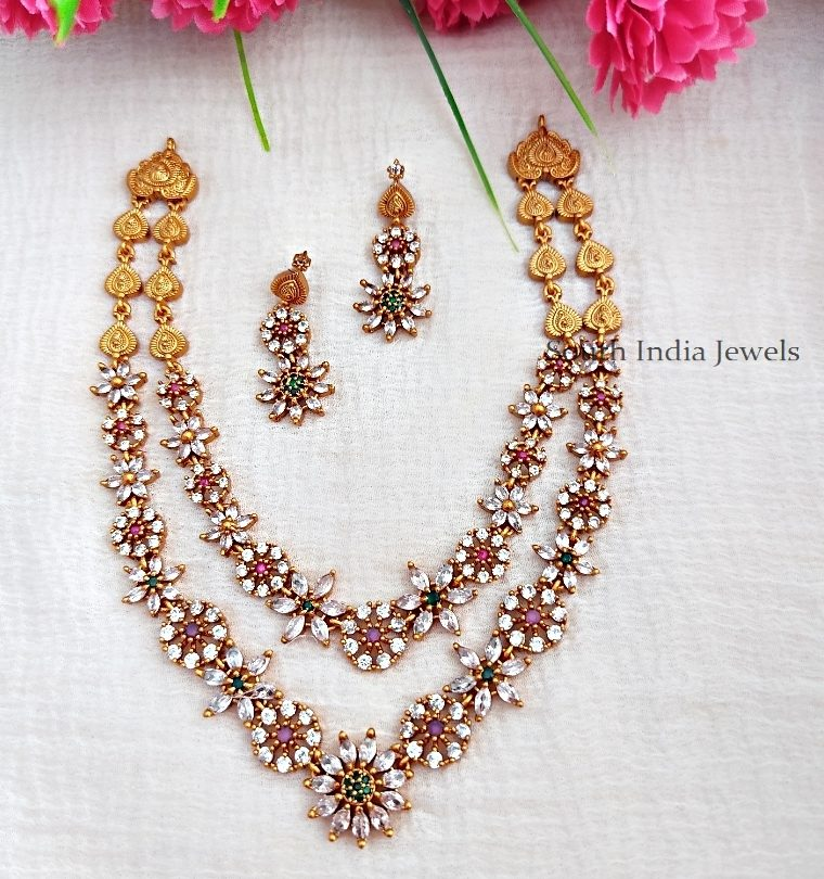 Beautiful-Double-Layer-Necklace