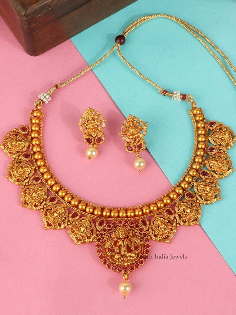 Beautiful Lakshmi Choker Set
