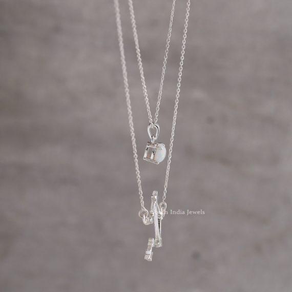 Beautiful Libra Layered Necklace (2)