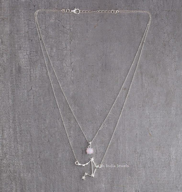 Beautiful Libra Layered Necklace