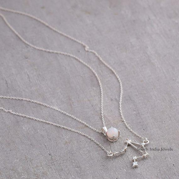 Beautiful Libra Layered Necklace..