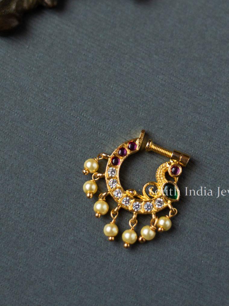 Beautiful-Stone-Nose-Ring