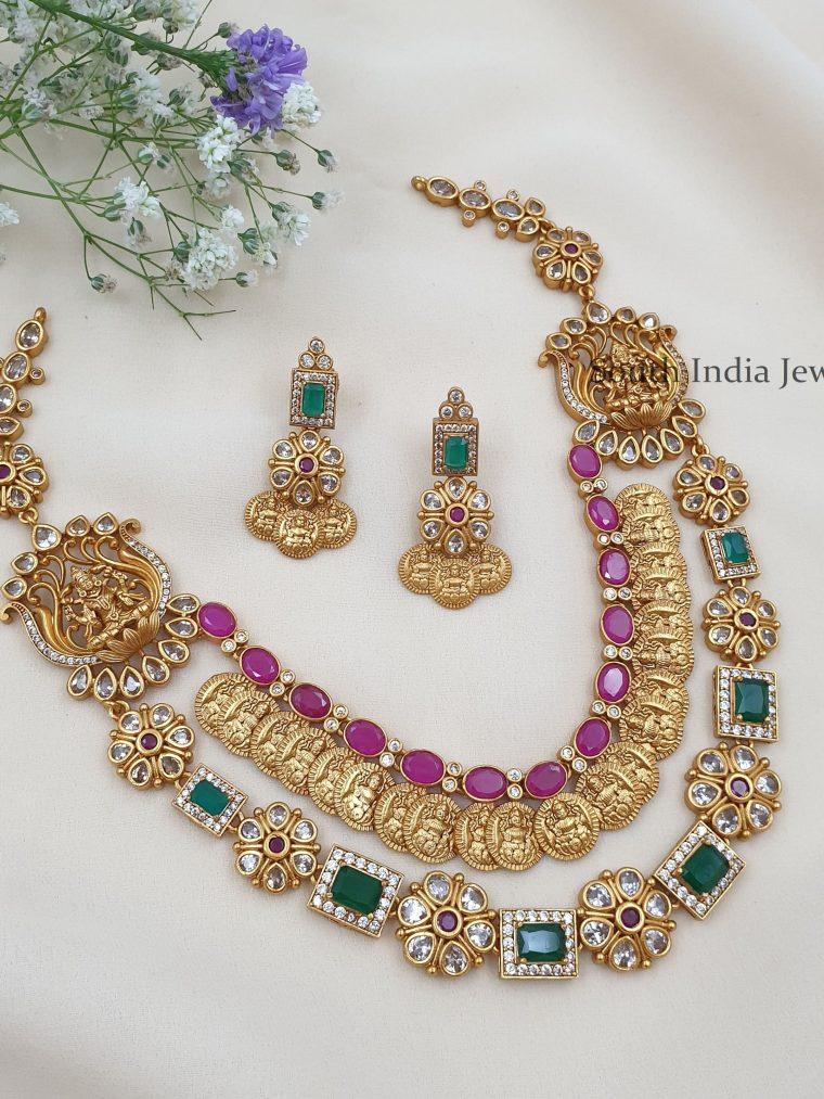 Beautiful-Two-Layers-Lakshmi-Necklace