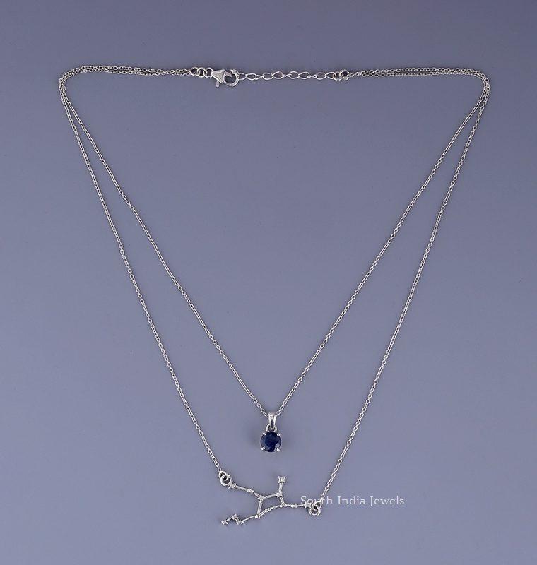 Beautiful Virgo Layered Necklace (2)