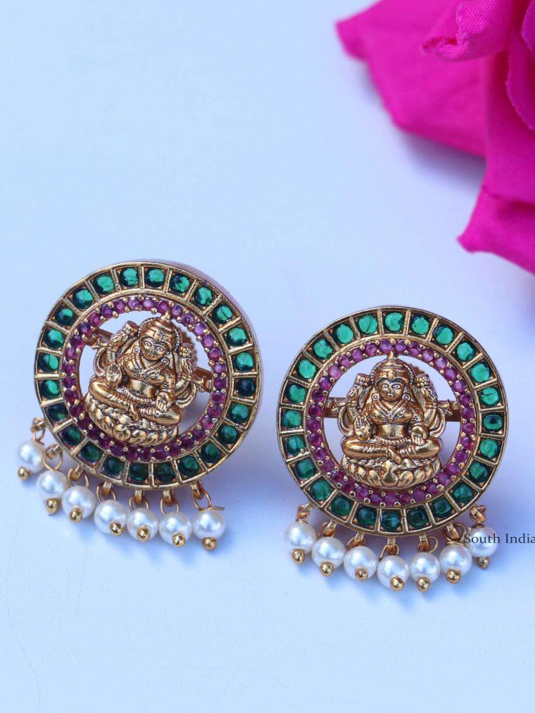 Classic-Lakshmi-Design-Earrings