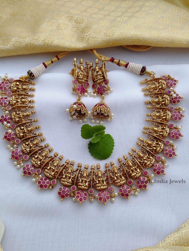 Classic-Lakshmi-Design-Necklace