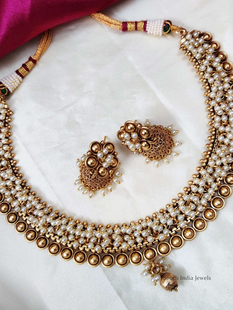 Classic Pearls & Beads Necklace