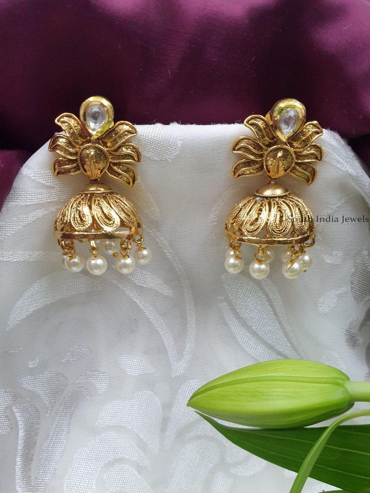 Designer-Pearls-Jhumkas