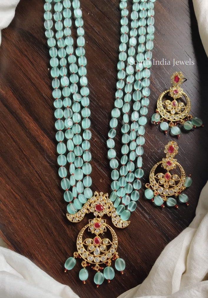 Elegant Beads Haaram Set
