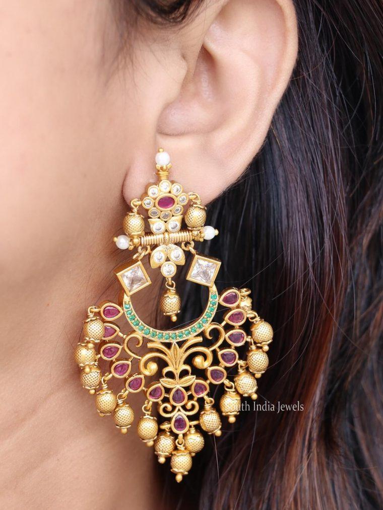 Elegant Guttapusalu Earrings
