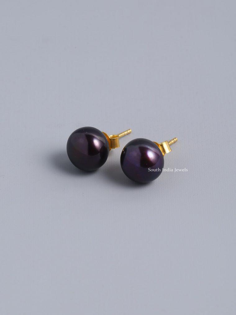 Exotic-Black-Pearl-Stud