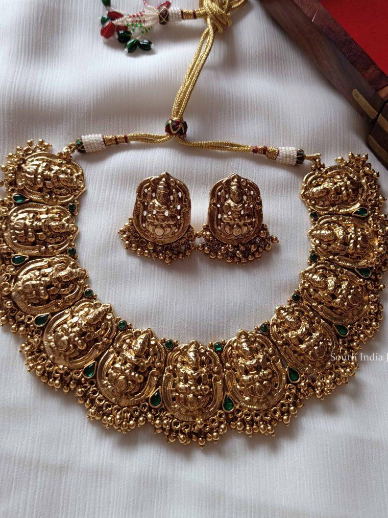 Fabulous Lakshmi Choker Set