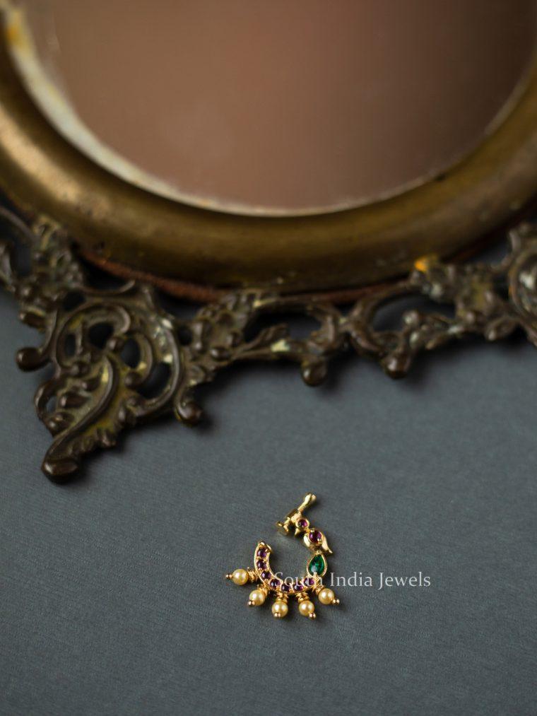 Gold-Finish-Nose-Ring