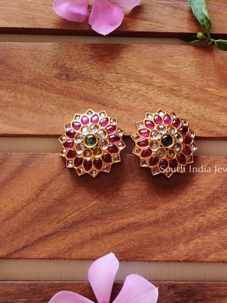 Gold-Kemp-Stone-Earrings